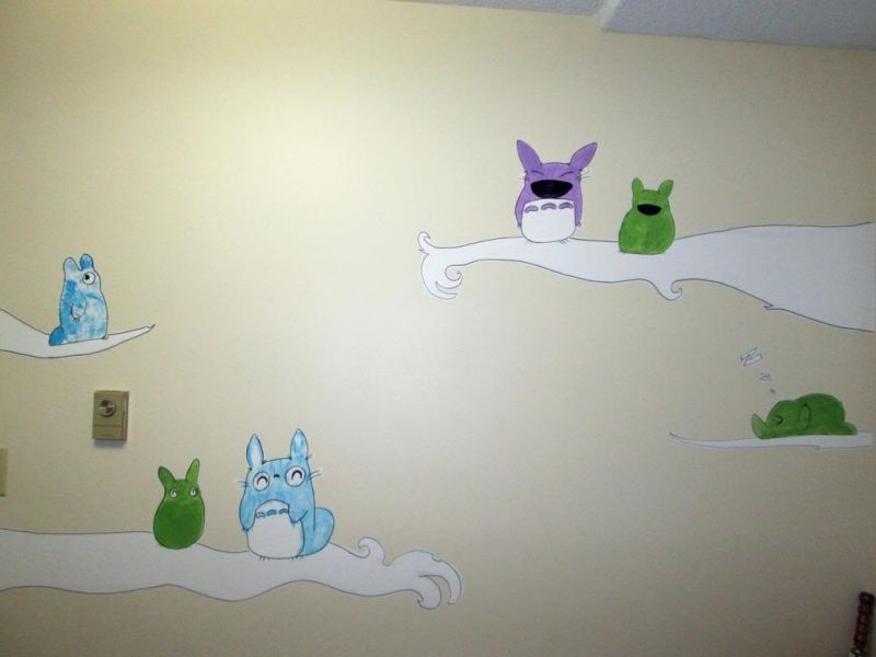 Picture of: Totoro Nursery Gallery