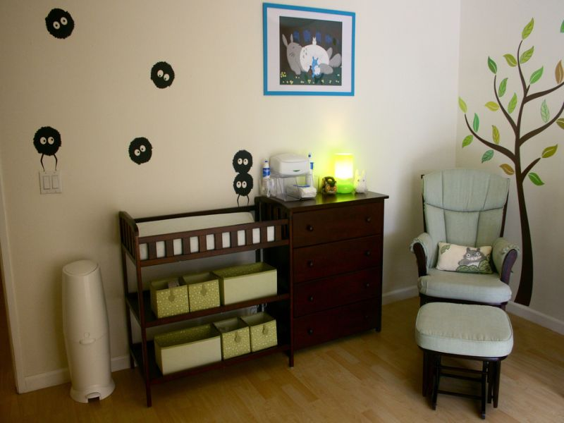 Picture of: Totoro Nursery Ideas