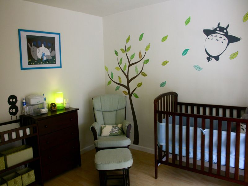 Picture of: Totoro Nursery Image