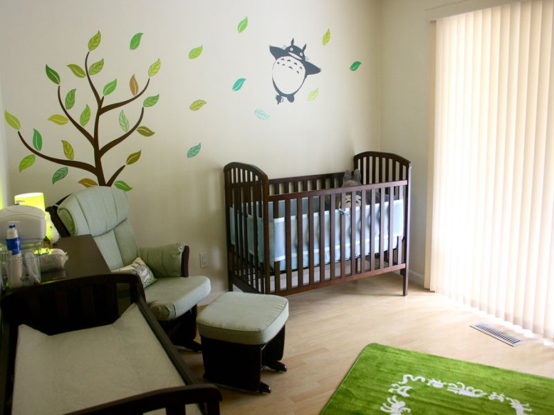 Totoro Nursery Photo Sharing