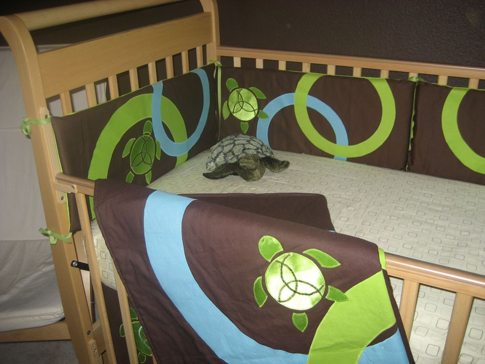 Image Of Turtle Nursery Bedding Decorating