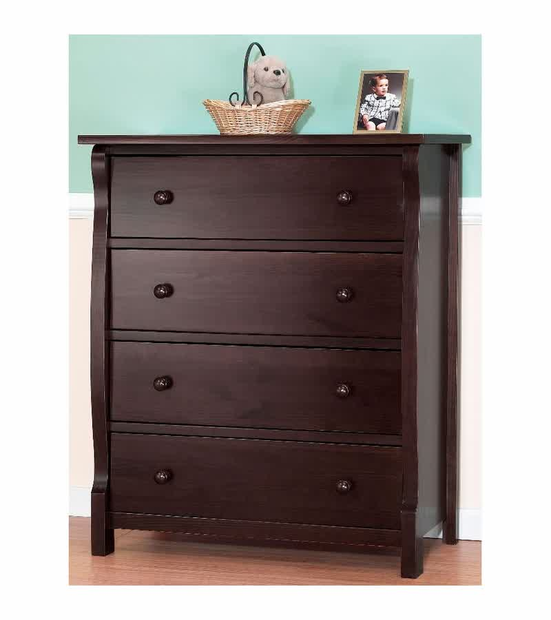 Tuscan Espresso Dresser For Nursery