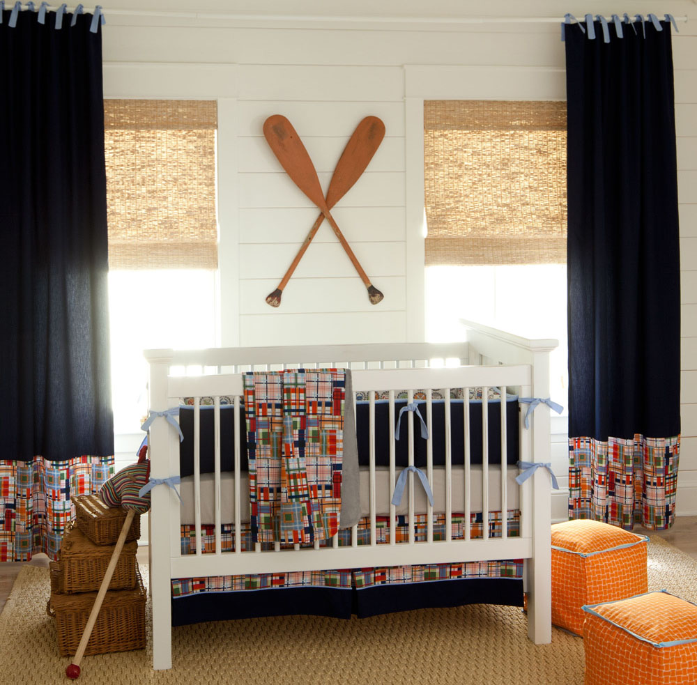 Unique Girl Nautical Nursery