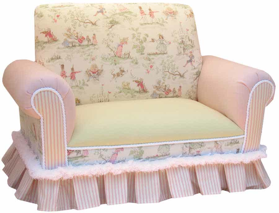 Picture of: Upholstered Nursery Glider