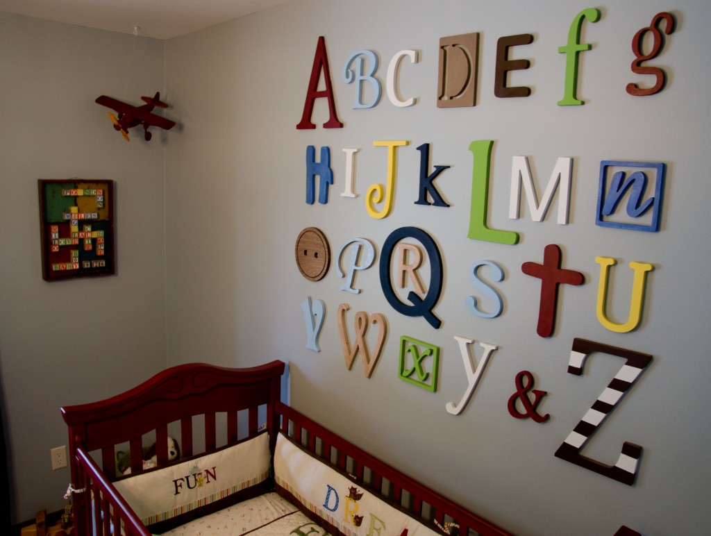 Image of: Vintage Airplane Nursery Inspired