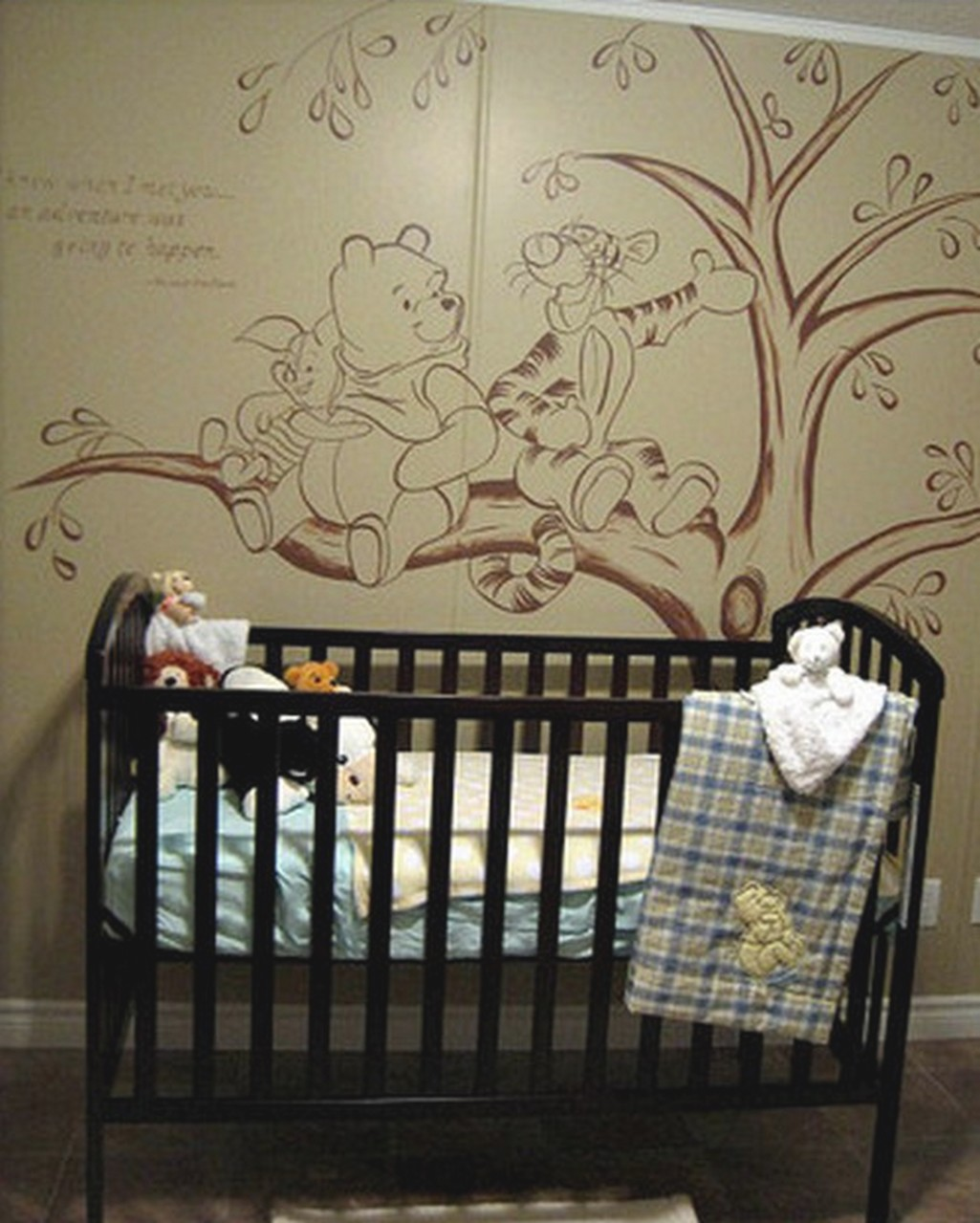 Picture of: Vintage Winnie The Pooh Nursery Decor