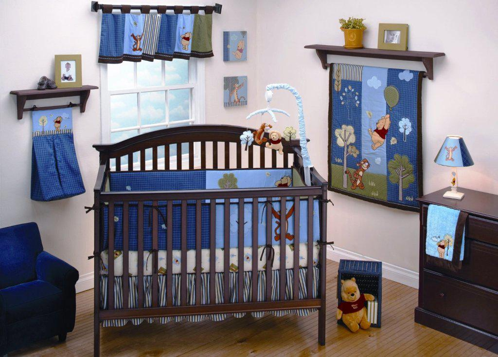 Picture of: Vintage Winnie The Pooh Nursery for Boy