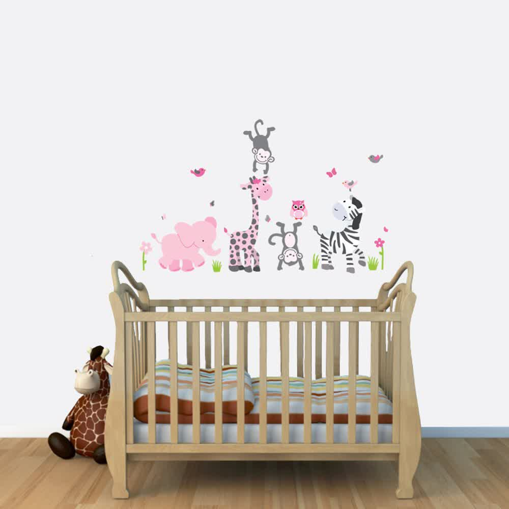 Image of: Wall Decals for Nursery Ideas