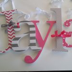 Wall Letters for Nursery Diy