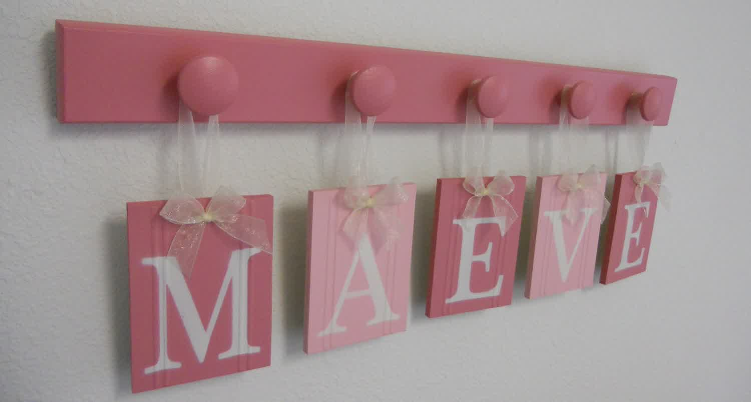 Picture of: Wall Letters for Nursery Ideas