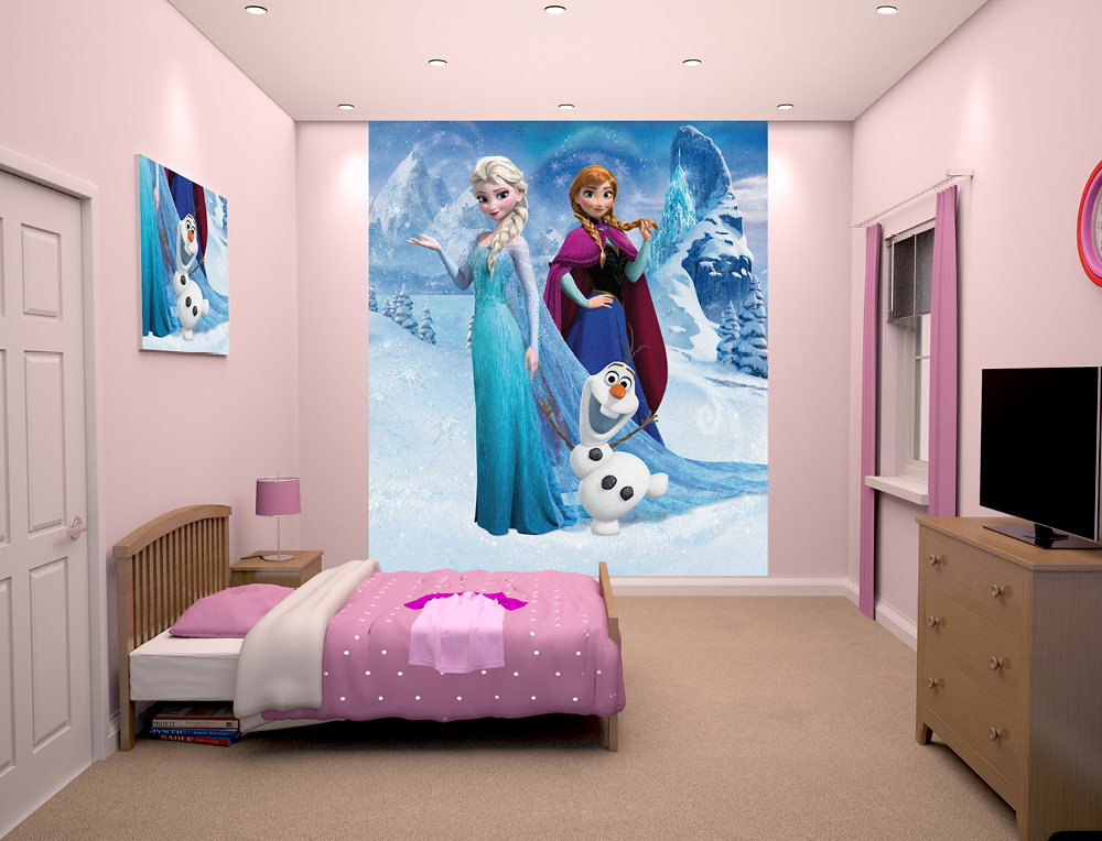 Wall Mural Disney Themed Nursery