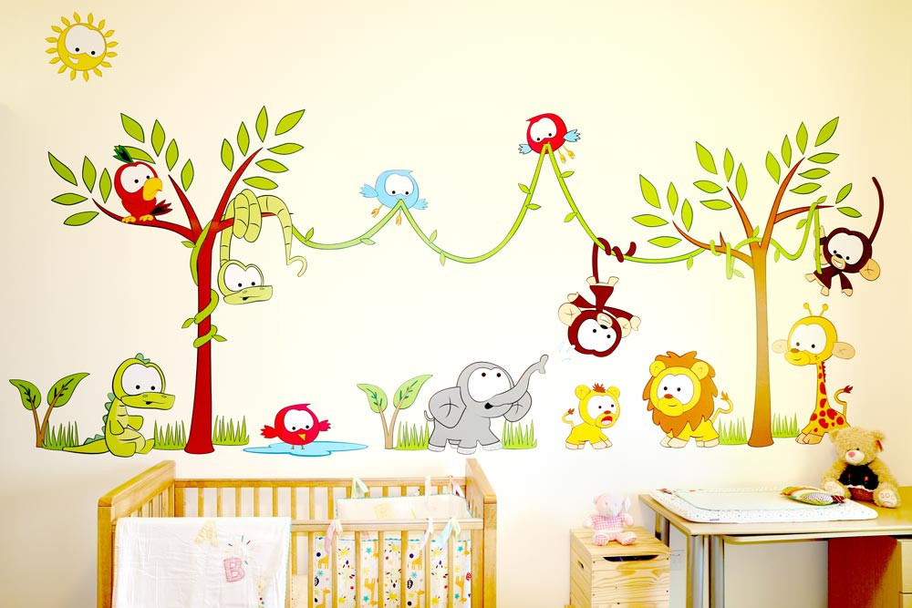 Wall Stickers For Nursery Decor