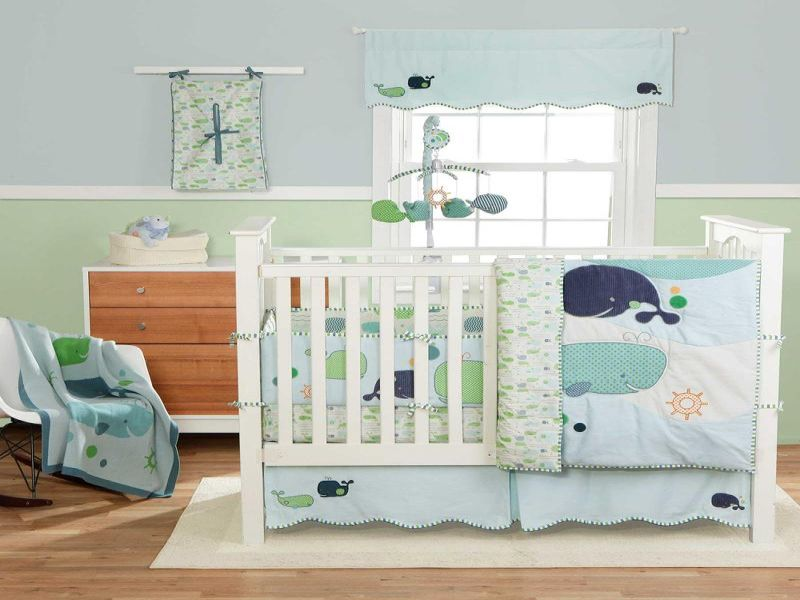 Picture of: Whale Nursery Decor Attractive