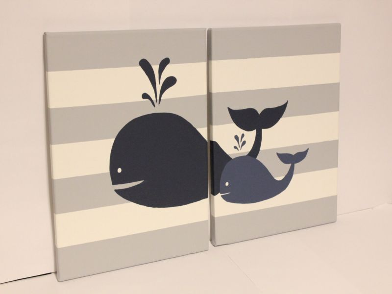 Picture of: Whale Nursery Decor Image