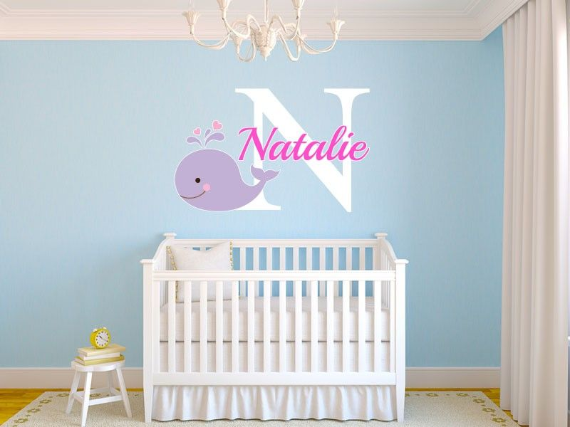 Whale Nursery Decor Modern