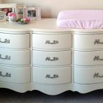 White Dresser for Nursery Diy