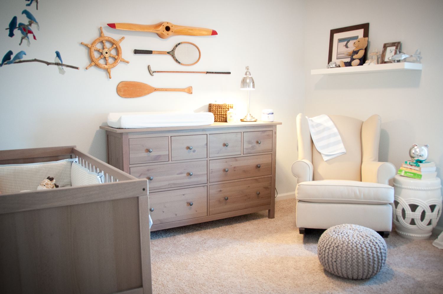 Image of: White Dresser for Nursery Ikea