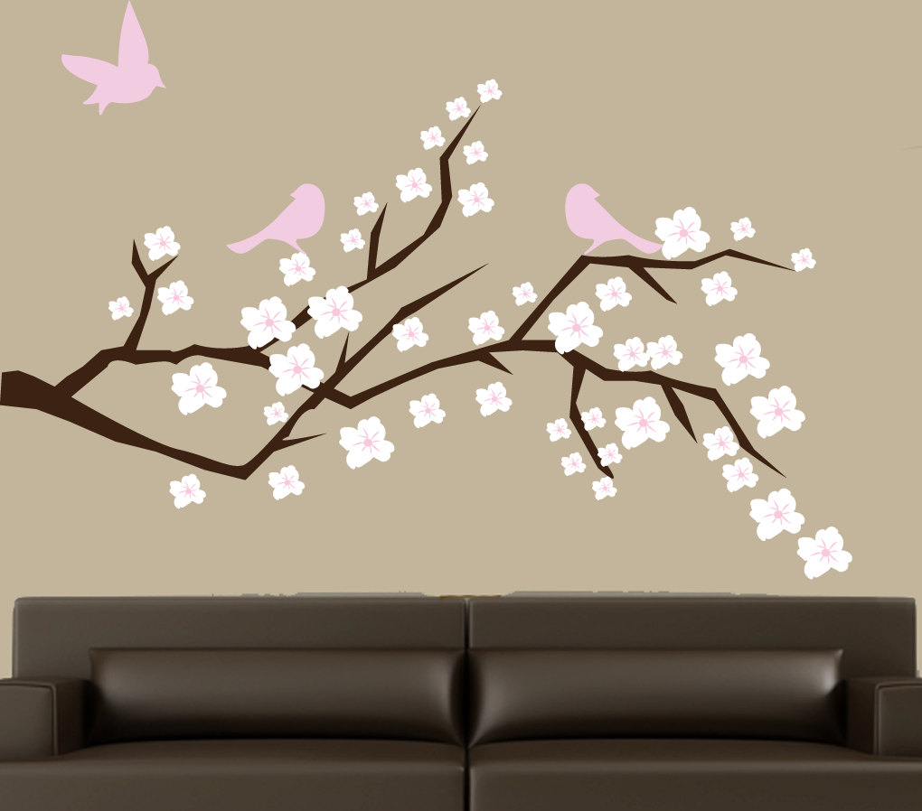 Picture of: White Tree Nursery Decals big