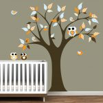 White Tree Nursery Decals dear