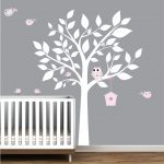 White Tree Nursery Decals floor