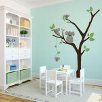 White Tree Nursery Decals Funny