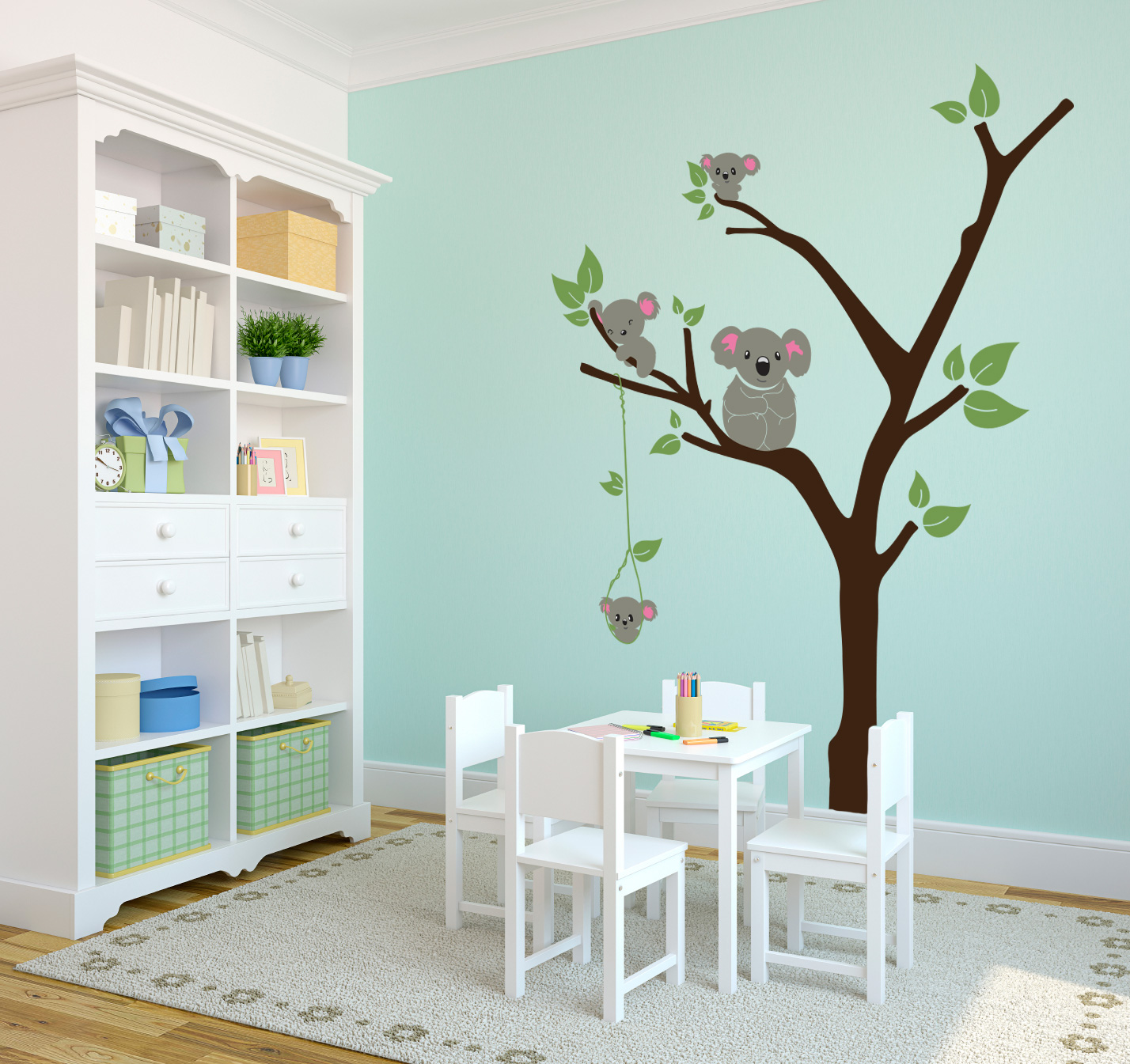 Picture of: White Tree Nursery Decals funny