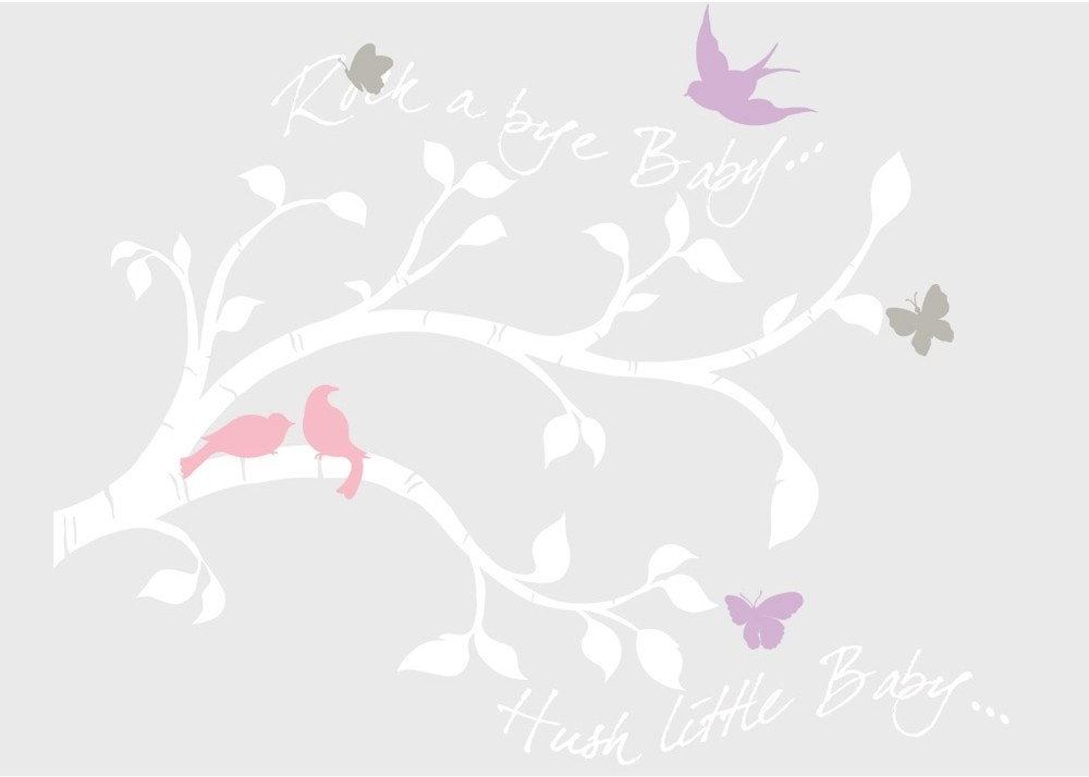 Picture of: White Tree Nursery Decals guest