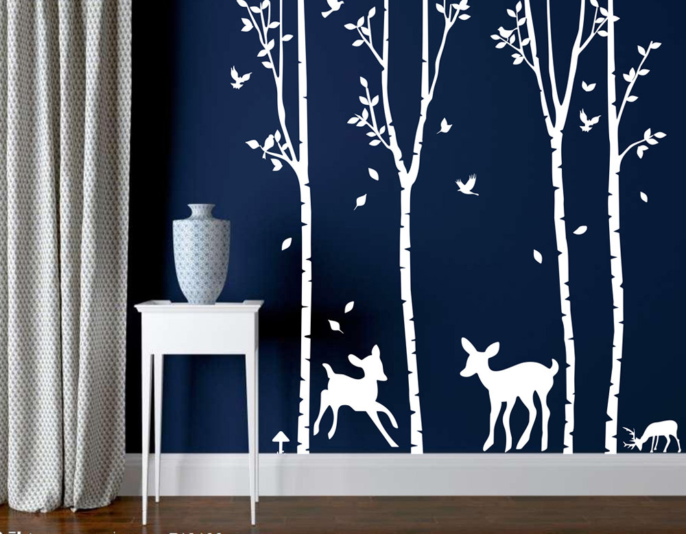 White Tree Nursery Decals veet