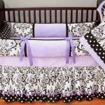 Wonderful Purple Nursery Bedding