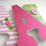 Wonderful Wall Letters for Nursery