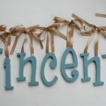 Wooden Letters for Nursery Decor
