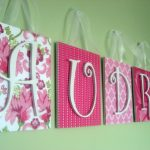 Wooden Wall Letters for Nursery