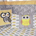 Yellow And Gray Nursery Bedding Bird