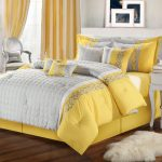 Yellow and Gray Nursery Bedding large
