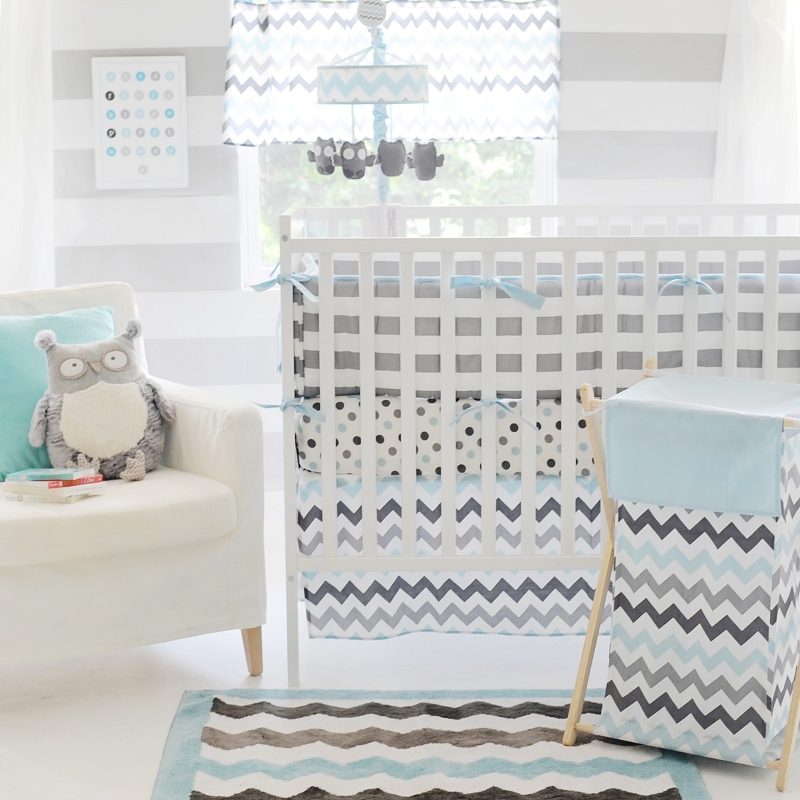 Picture of: chevron nursery bedding