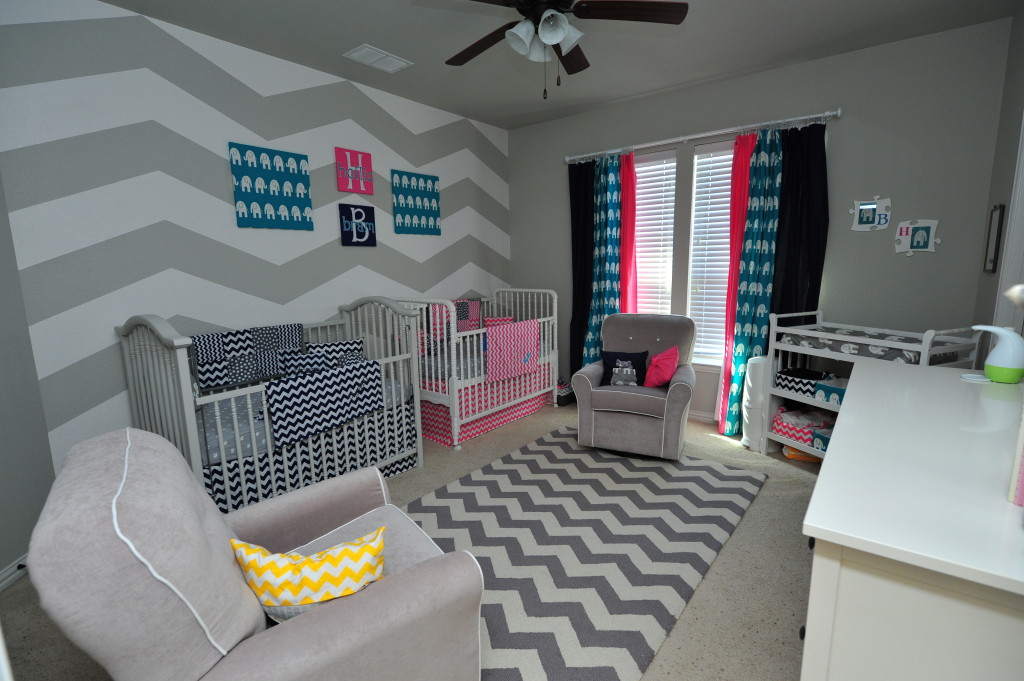 Picture of: chevron nursery decor