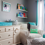 Chevron Nursery Furniture