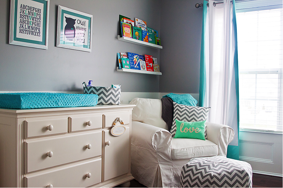 Picture of: chevron nursery furniture