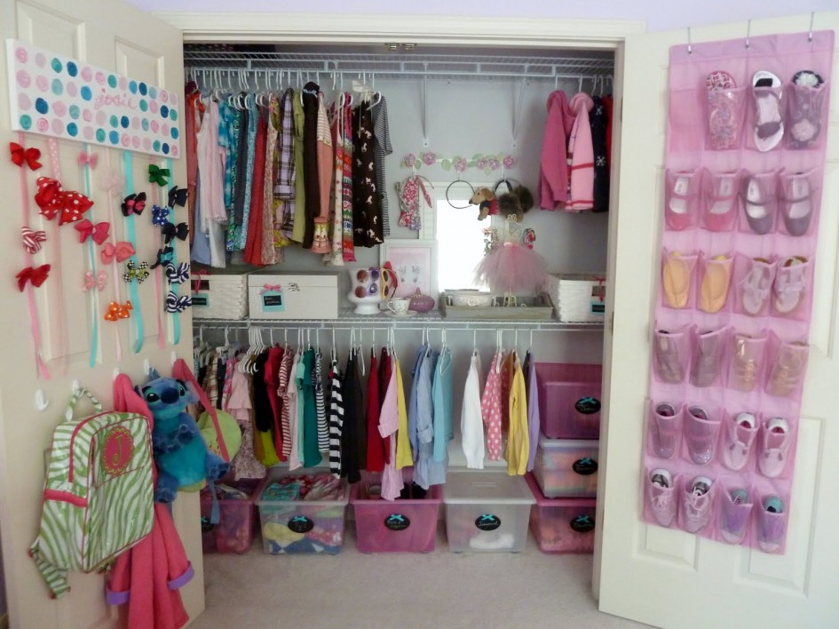 Picture of: nice nursery closet organizer