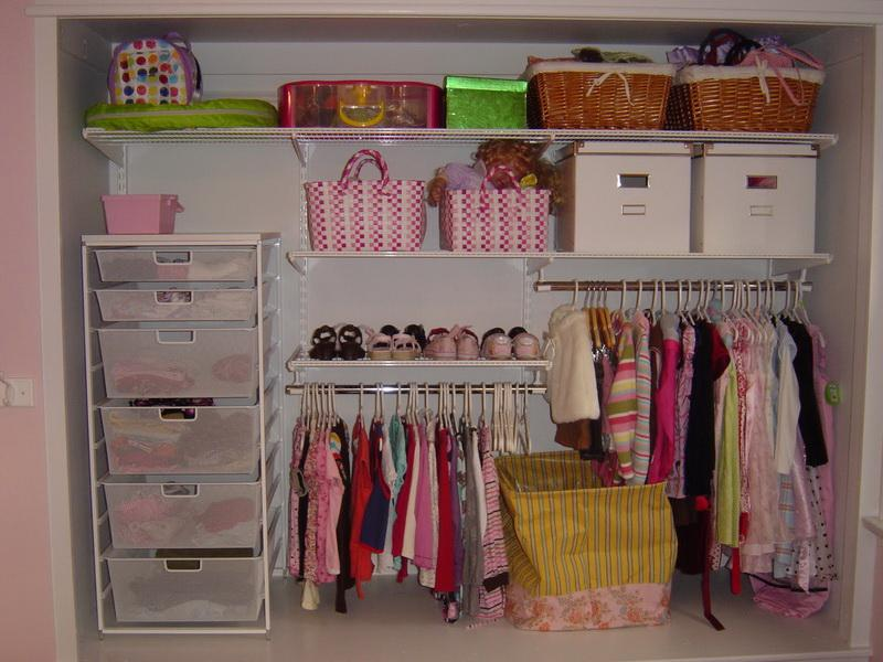 Image of: nursery closet organizer ideas