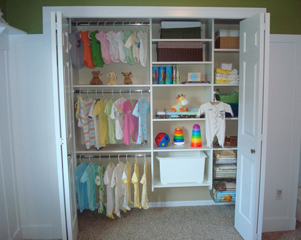 Picture of: nursery closet organizer info
