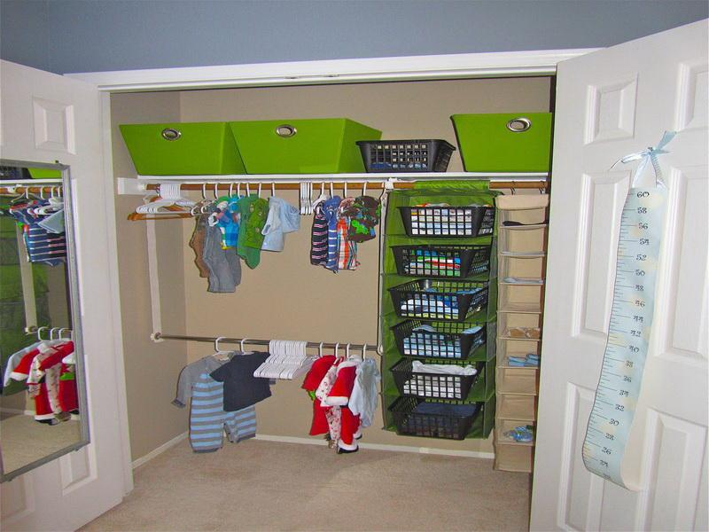 Picture of: nursery closet organizer