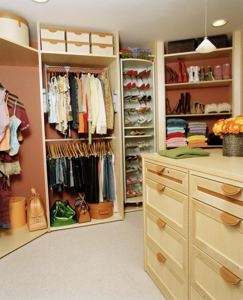 Image of: small nursery closet organizer