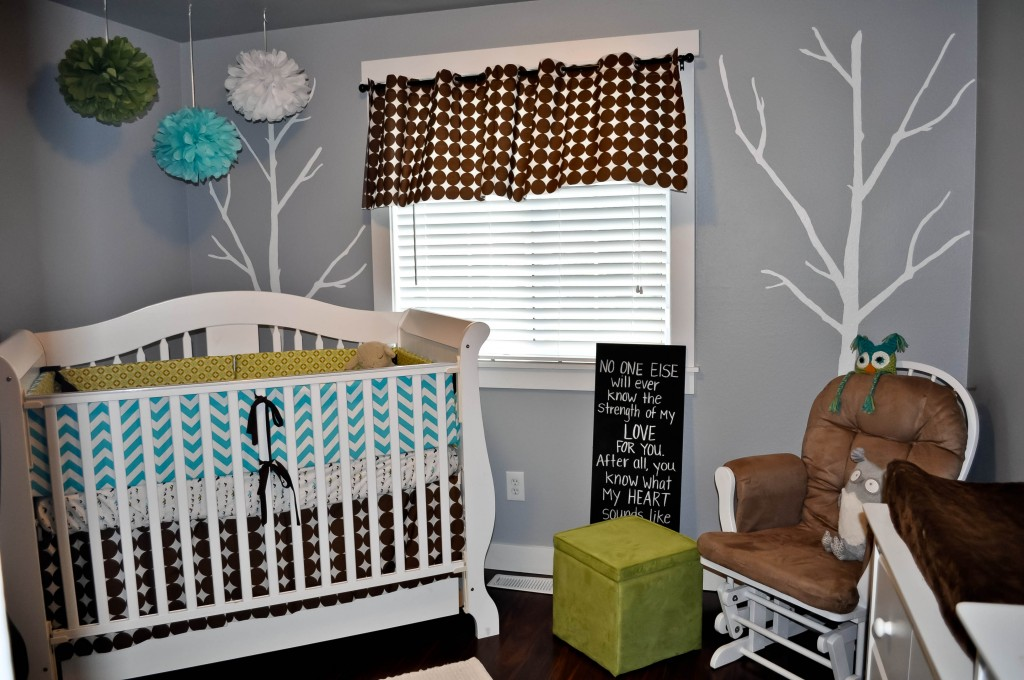 Picture of: vintage chevron nursery