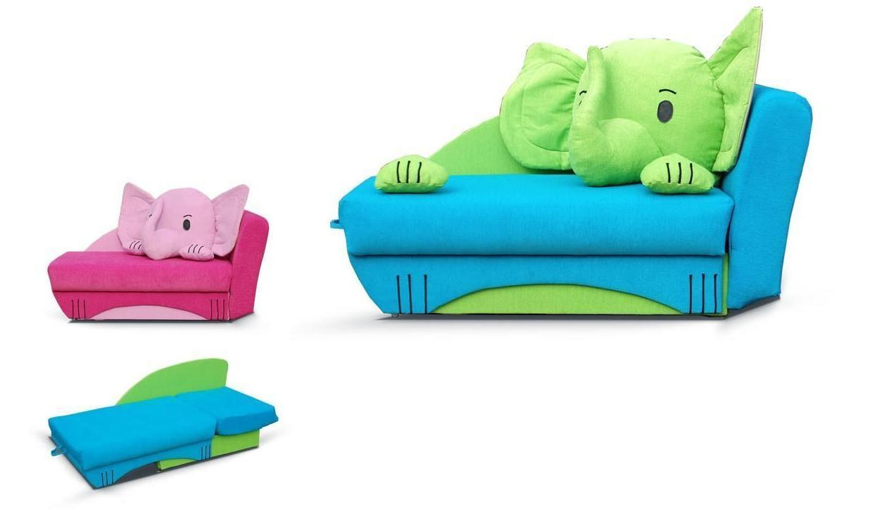 Flip Out Toddler Couch Bed