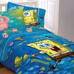 Funny Spongebob Toddler Bed Set