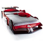 Image of Race Car Toddler Bed