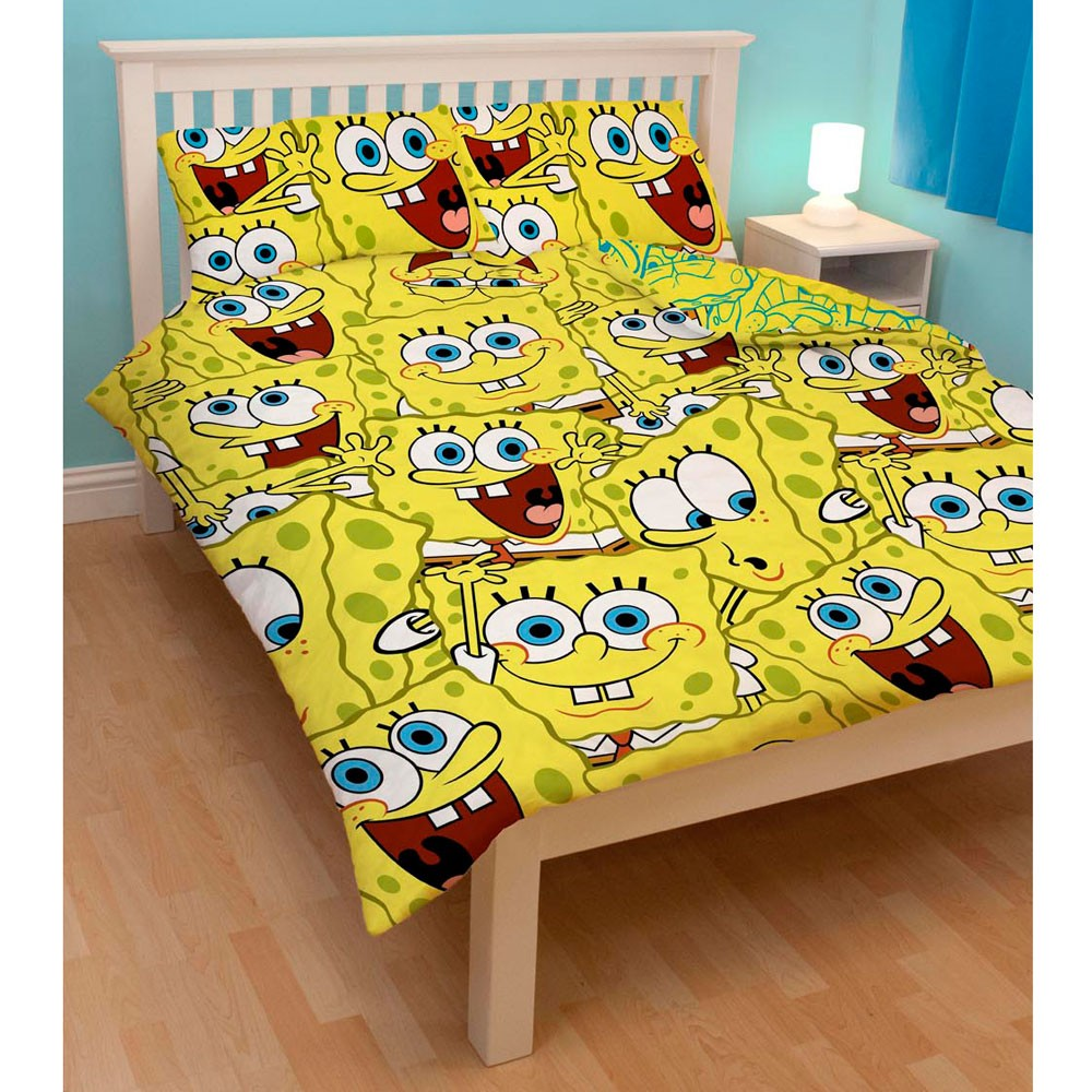 Picture of: New Spongebob Toddler Bed Set