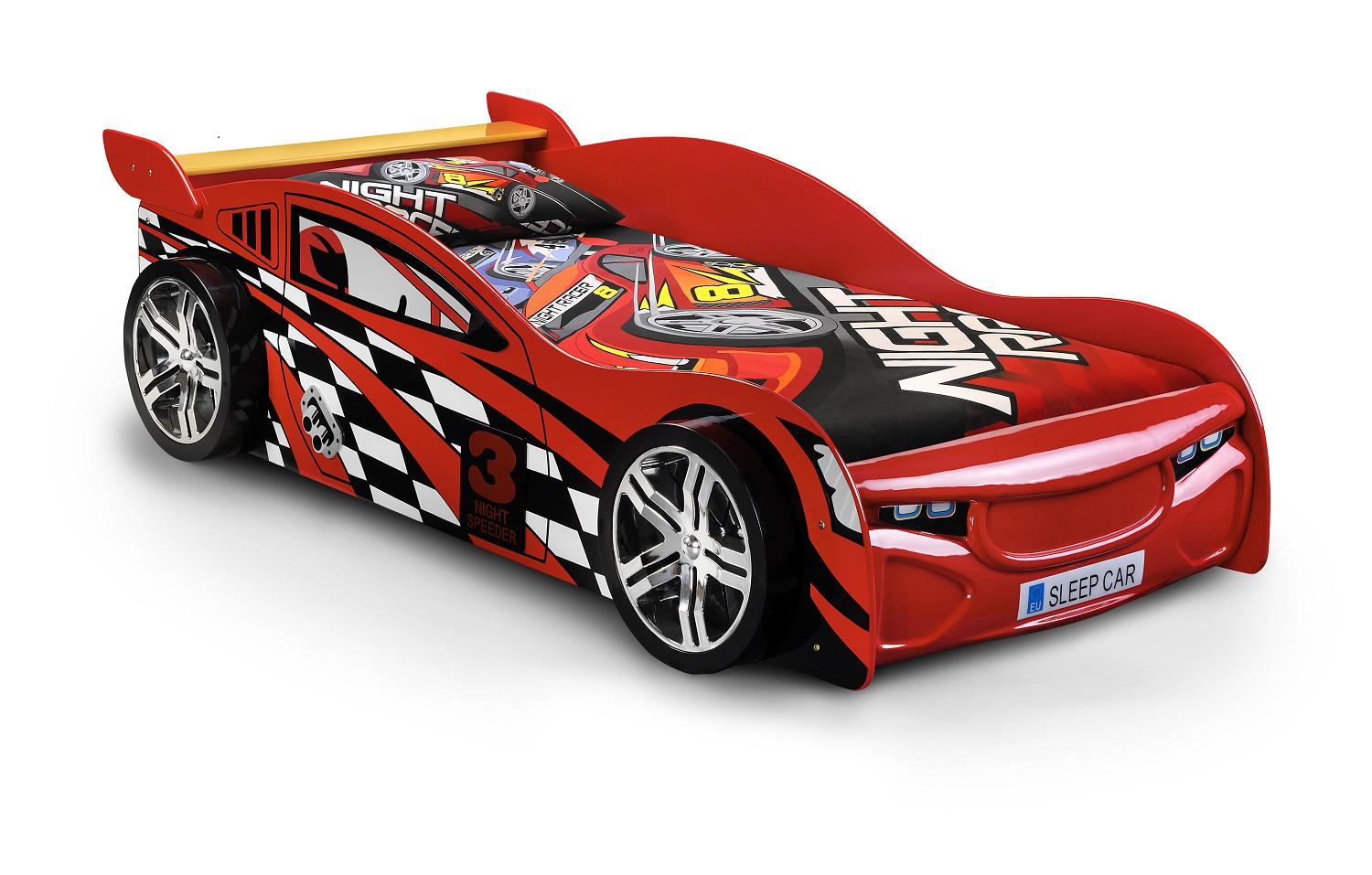 Picture of: Photos of Race Car Toddler Bed