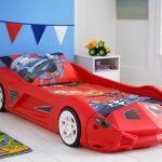 Picture of Race Car Toddler Bed